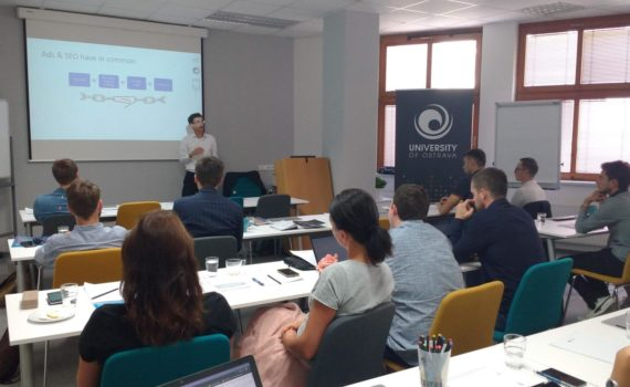 SEO & Analytics workshop at University of Ostrava